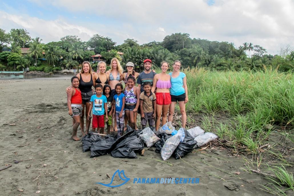Beach Clean in Santa Catalina, Panama